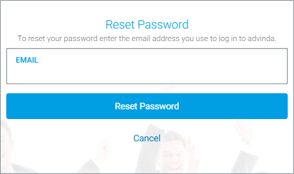 Login/Signup: Reset Password