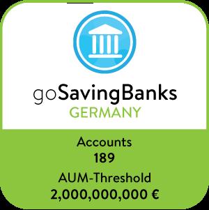 goSavingBanks Germany